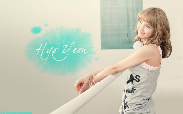 SNSD Hyoyeon 1920 x 1200