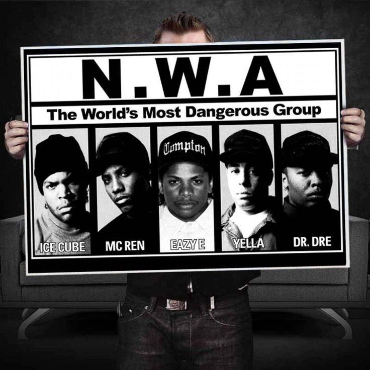 NWA The worlds Most Dangerous Group Poster