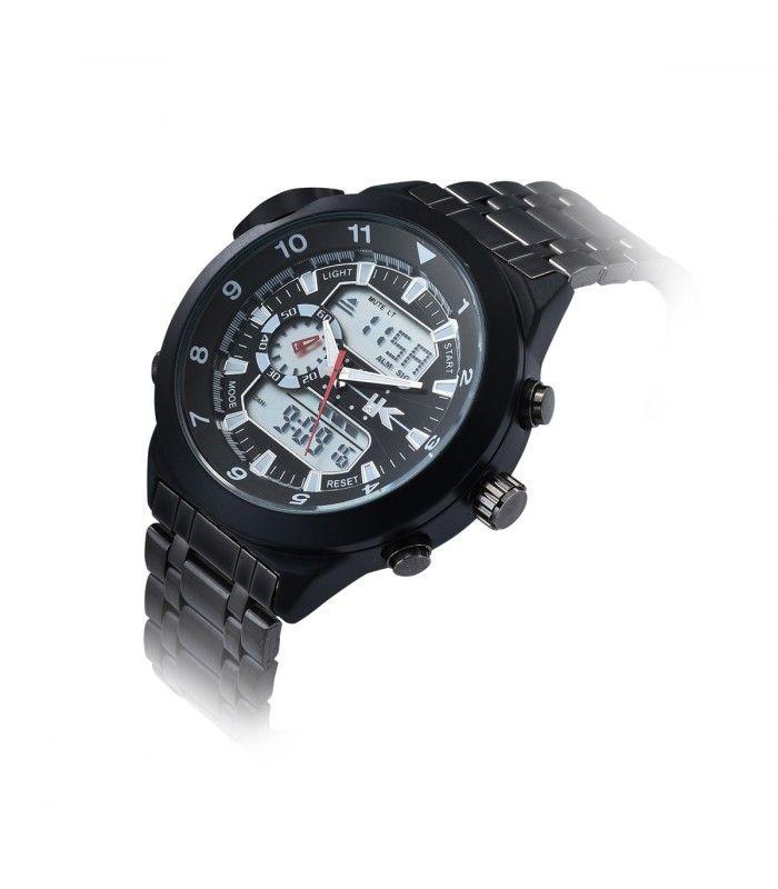 Yaki Mens Analog Quartz Digital Wrist Watch 1040 - Yaki Watches Shop