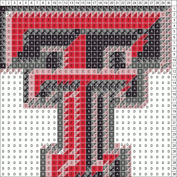 Texas Tech Quilt Pattern.  After I finish Samuel's quilt, I am going to make this one for Aubrey!