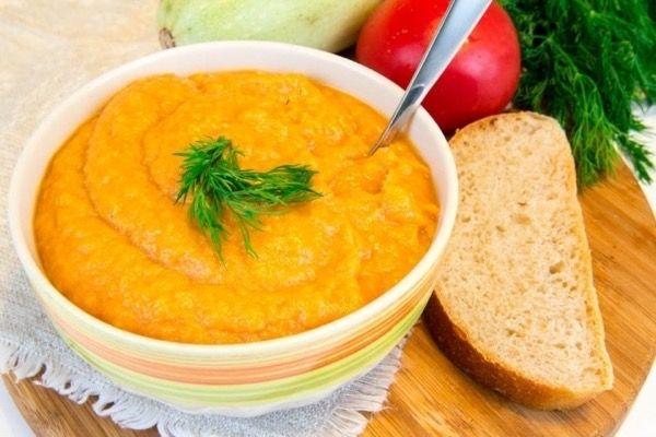 Кабачковая икра с морковью + ВИДЕО-РЕЦЕПТ заготовки на зиму