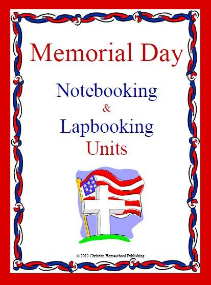 MEMORIAL DAY Teaching Resources!  Download Club members can download @ http://christianhomeschoolhub.spruz.com/pt/Memorial-Day-Resources/wiki.htm