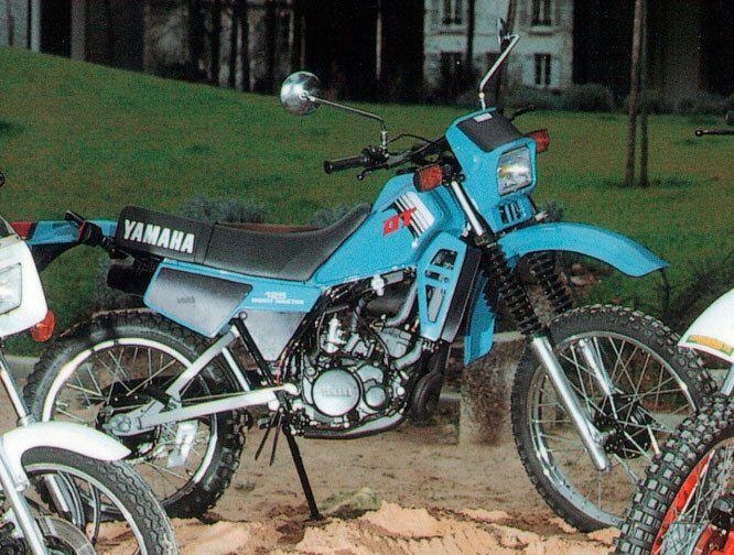 https://flic.kr/p/nJWAjK | Yamaha 125 DTLC 1982 | Après une pause, ça repart : 1999
