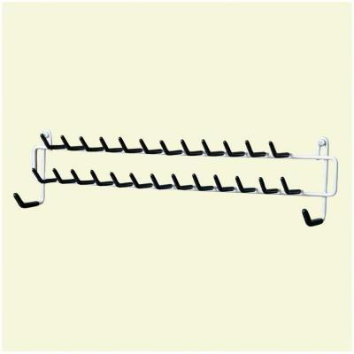 ClosetMaid 27-Hook Tie & Belt Rack-8051 - The Home Depot $7.98