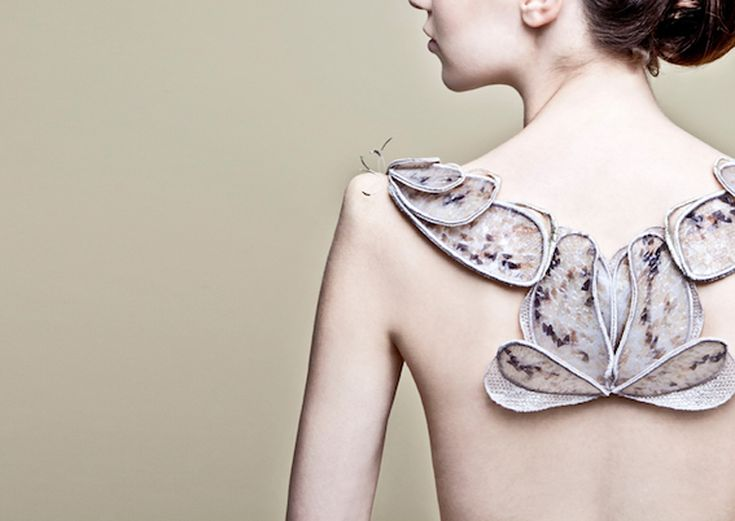 Biological Atelier by Amy Congdon - The project envisions a world where materials are not made, they are grown – where new luxury materials are fashioned from cells, not fabrics.