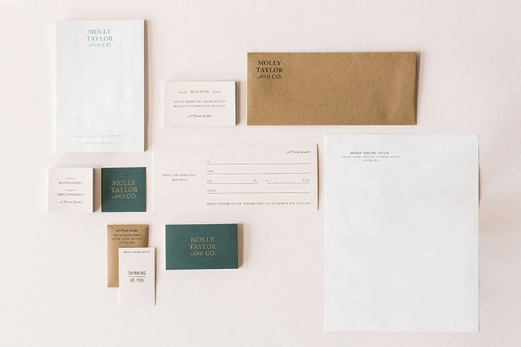 FPO: Molly Taylor & Co. Identity Materials