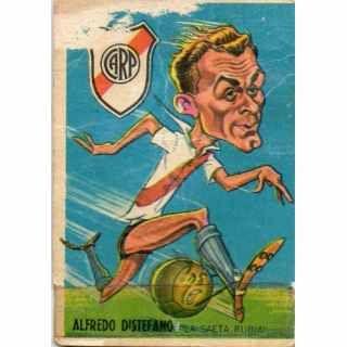 Alfredo Distefano - River Plate; Real Madrid