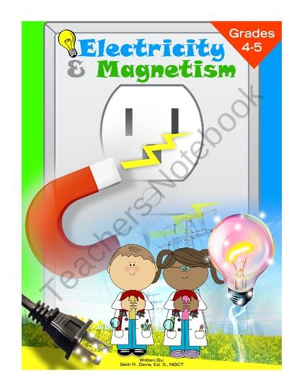 Electricity And Magnetism Test Middle School