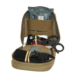 TACOPS Individual Officer Trauma Kit.  This kit has proven to save lives