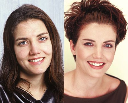 """""""I absolutely love the new image I project – I feel beautiful, sexy yet feminine at the same time."""" ~ Rene  View the before and after here: http://chataromano.com/makeover/rene-28-restaurateur/  #style #beauty #makeover"""