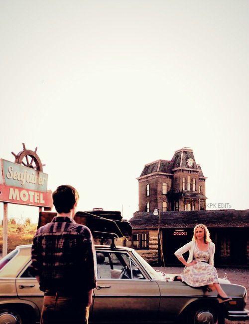 Norma y Norman Bates en el primer capítulo de la primera temporada :)