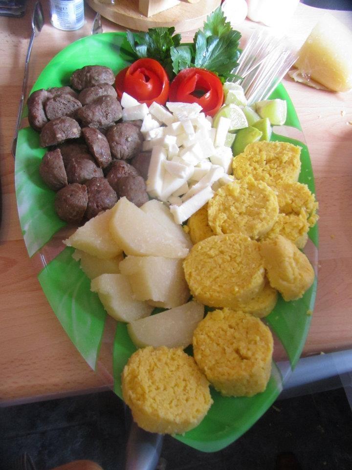 Butifarra, Queso Costeño, Bollo Limpio, Bollo de Mazorca - Colombian food especially the Caribbean coast