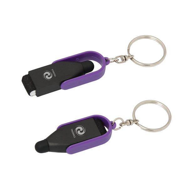 TECHSIE DAISY SCREEN CLEANER WITH STYLUS. Starting at - min 150 @ $2.00 msrp Available in 5 different colors!!