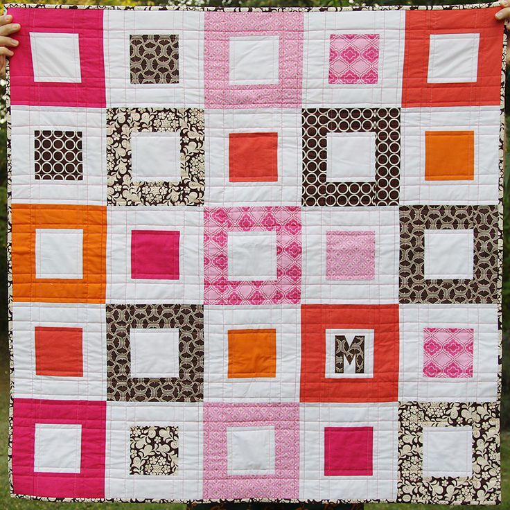 476 best Quilting images on Pinterest | Patchwork quilting, Mini ... : easy log cabin quilt pattern - Adamdwight.com