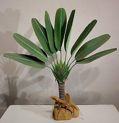 Traveler-Palme 50cm hoch Kunstpflanze in Möbel & Wohnen, Dekoration, Blumen & Künstliche Pflanzen   eBay