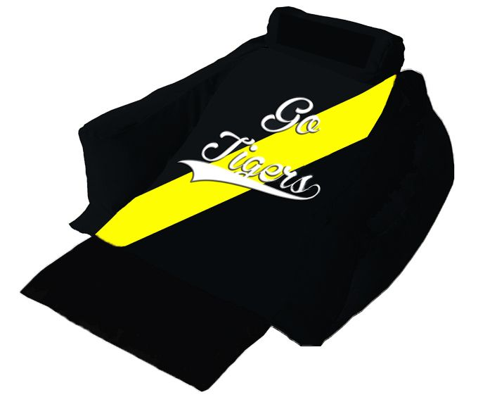 Match your Wedg-eze lounger to your favorite Richmond Tigers team black and gold colors!...   #gotigers #AFL #wedgeze