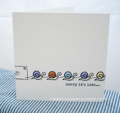 I Dream in Paper: Snail mail