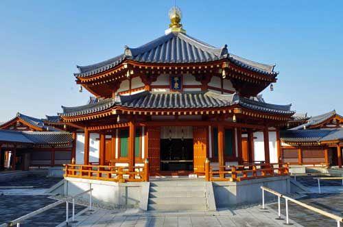 Yakushiji Temple, Nara, Japan.