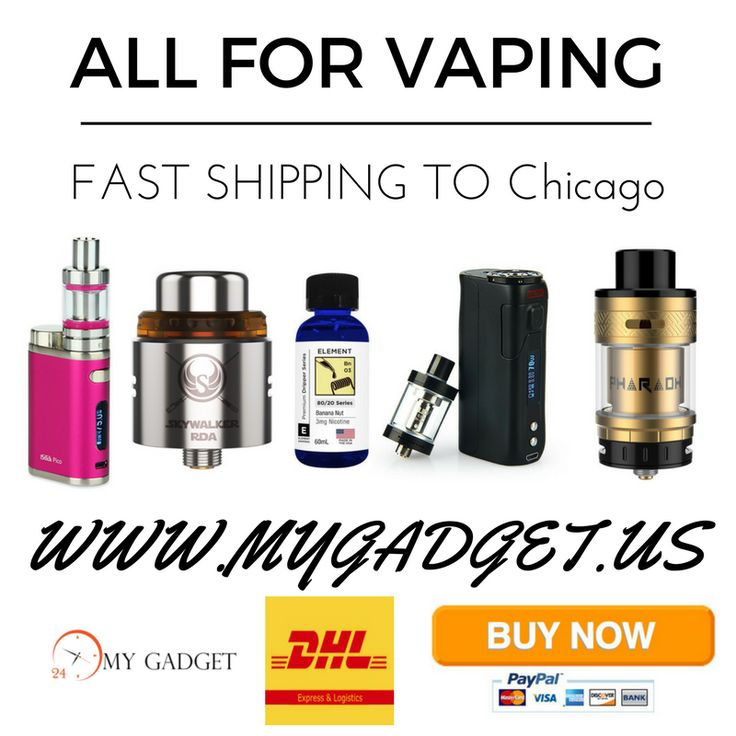 Electronic Cigarette Chicago | Pinterest | 3 Days Shipping https://www.mygadget.us #electronic #cigarette #vape #vaping #mygadget #chicago