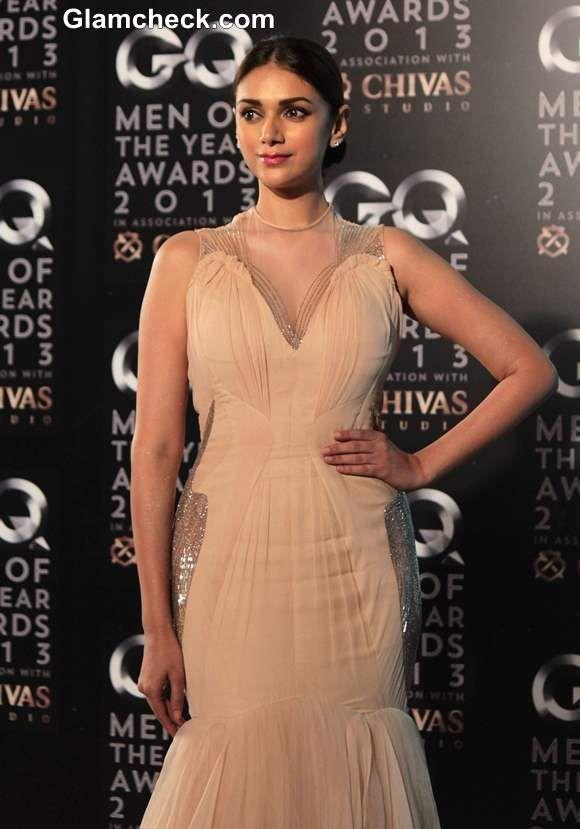 Aditi Rao Hydari at 2013 GQ Man of the Year Awards
