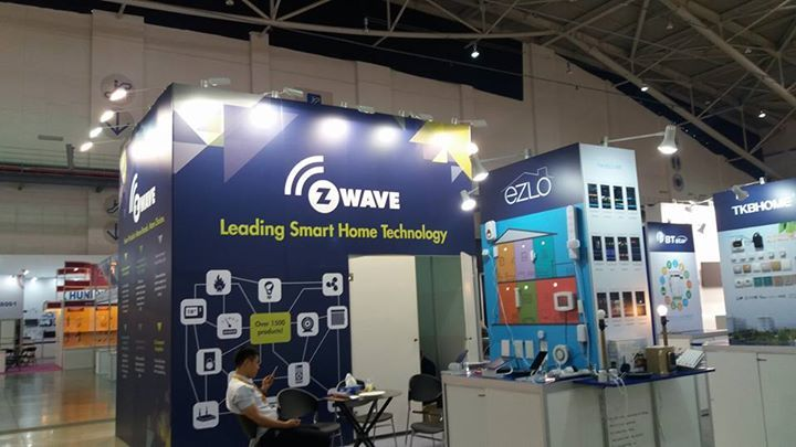 """Today is the third day of #SMAHome2016 make sure to visit our booth at 8018 #EZLOSMARTHOME and catch our CTO by 10:30 am at booth no. 8607 as he discuss about """"Embracing the Technology Convergence. The Zwave system and gateway integration.   #B2B #ZwaveAlliance #ZwaveTechnology #IoT #OEM #Secutech #M2M"""