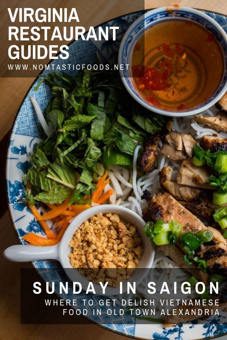 Sunday In Saigon The Best Vietnamese Food In Alexandria Va Nomtastic Foods Vietnamese Recipes Food Sweet Potato Fritters