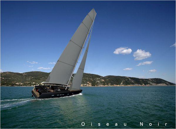 Oiseau Noir: il nuovo concetto di barca a vela di Sylvain Viau