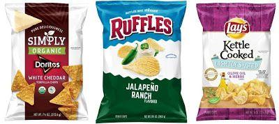 Frito-Lay Debuts  New Snacks
