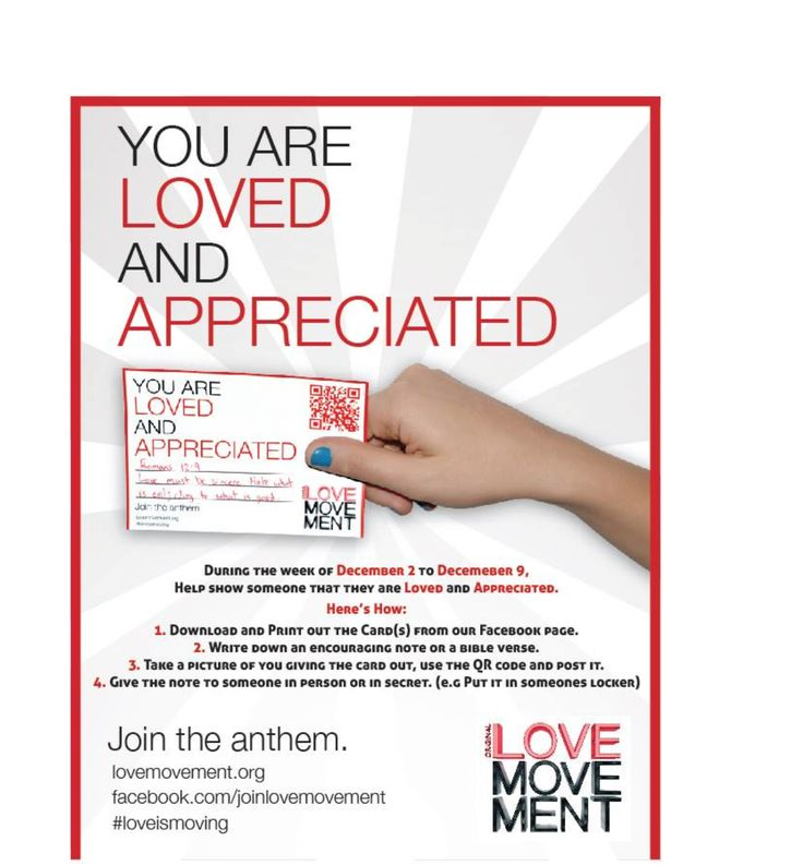 #LOVE IS MOVING! Join the movement…
