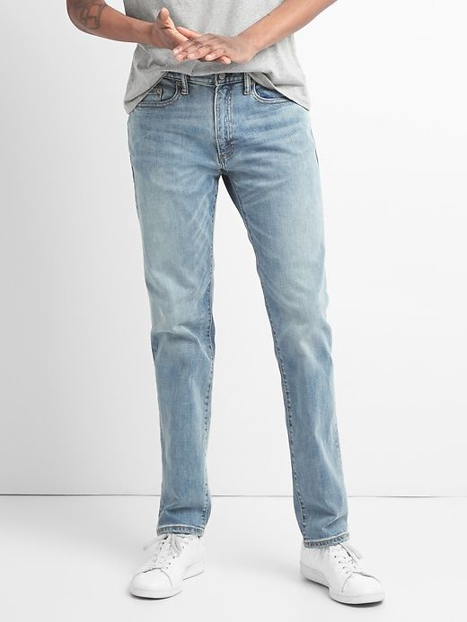 66f50673 Slim Jeans with GapFlex in 2019 | Products | Stylish jeans for men ...