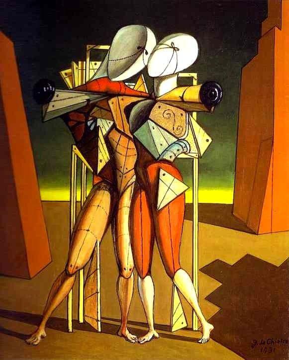 Giorgio De Chirico -surrealist like Chagall