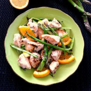 CARTOCCIO DI POLLO CON ASPARAGI E MIELE aceto balsamico ricetta, arancia, asparagi, Bocconcini di pollo, brandy, cartoccio di pollo, limone, miele, pollo al cartoccio, pollo e asparagi, ricetta al forno, ricetta con brandy, ricetta con miele, ricetta di pollo facile, ricetta facile, ricetta facile di pollo, ricetta pollo e asparagi, Ricetta secondo piatto, ricetta veloce, ricetta veloce con pollo, secondo al forno, secondo di carne, secondo di pollo, secondo piatto