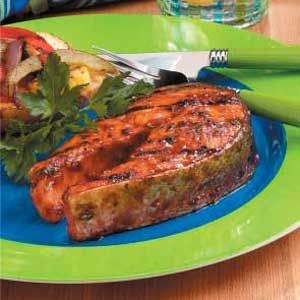 Firecracker Salmon Steaks Recipe