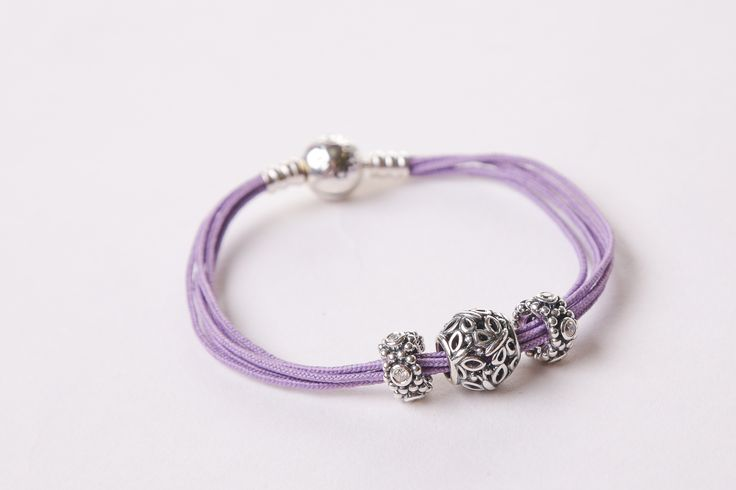Lavender Pandora multi-bracelet, $160 at Rodan Jewellers