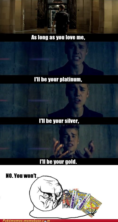 Pokémon: better than Justin Bieber. Hahahaha !! This is good , this is real good .