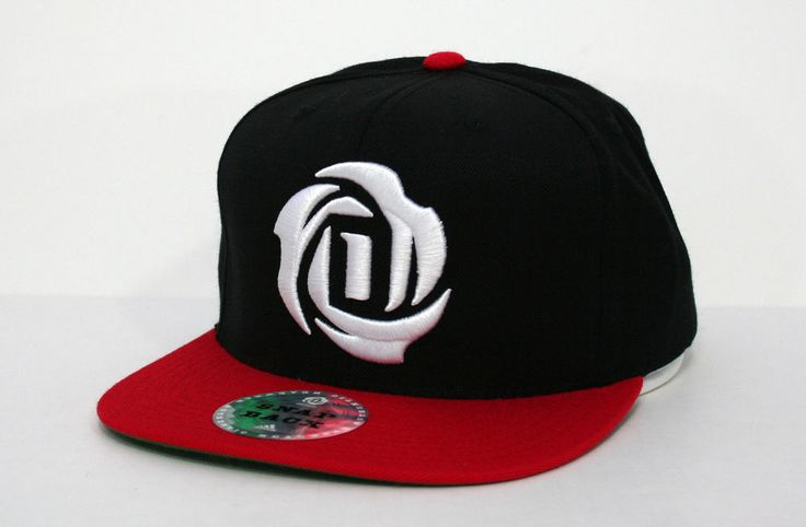 adidas derrick rose logo mens snapback hat blackred