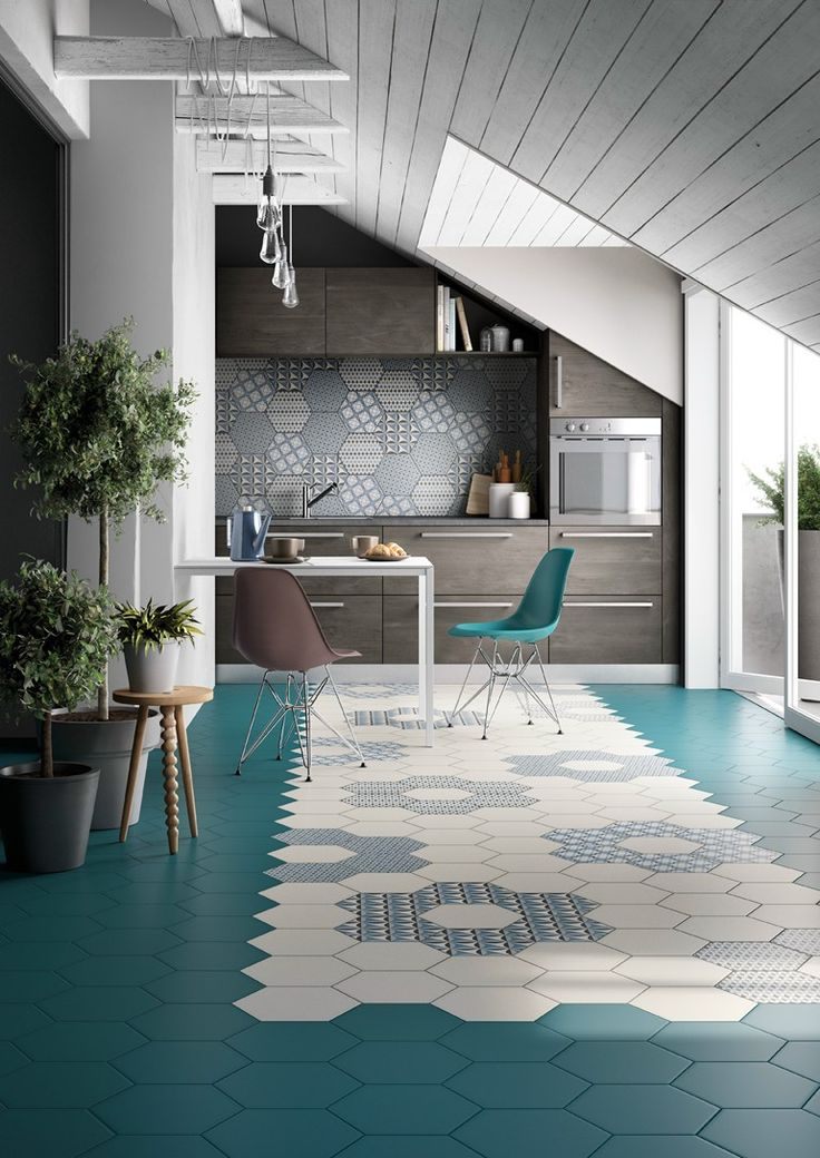 Indoor ceramic wall/floor tiles INES by Officina Italiana
