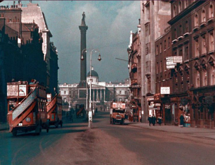 27 Rare and Amazing Color Photographs of London From 1924-1926
