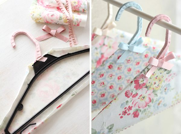 DIY Cath Kidston Hanger fabric covered project1 Cath Kidston DIY Hanger Craft