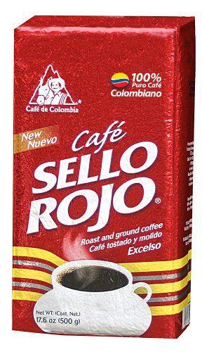 Sello Rojo Roast & Ground Coffee, 17.6-ounce Brick - http://teacoffeestore.com/sello-rojo-roast-ground-coffee-17-6-ounce-brick/