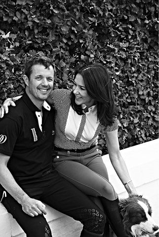 The copper wedding anniversary of Prince Frederik and Princess Mary celebrating 12 1/2 years of marriage.