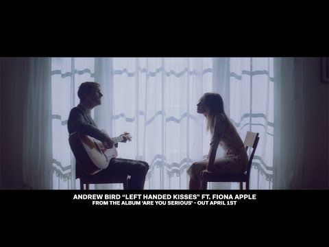 """""""Left Handed Kisses"""" ft. Fiona Apple from the forthcoming album 'Are You Serious' by Andrew Bird."""