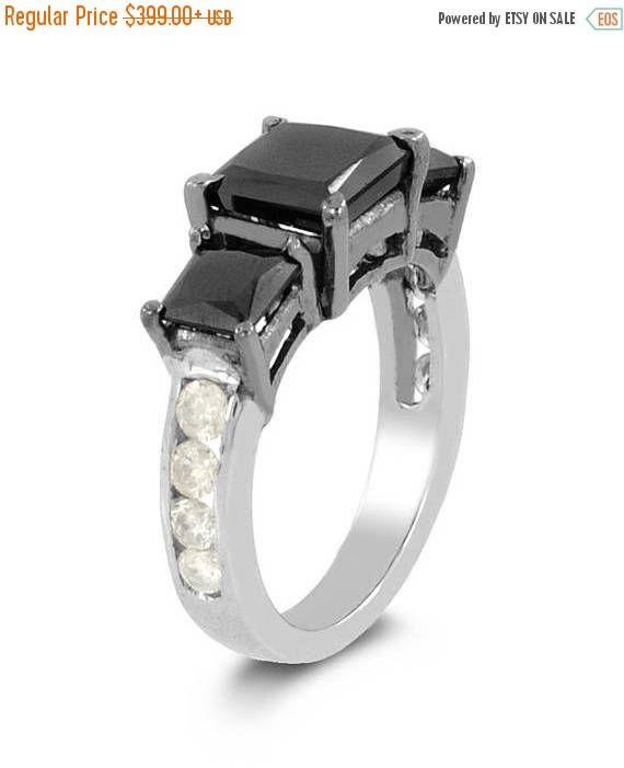 7 best black diamond rings images on Pinterest