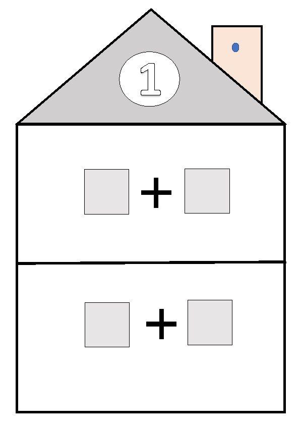 Después de haber practicado mucho en clase, he decidido incluir en el Rincón de las mates, las casitas de los números para que puedan de...