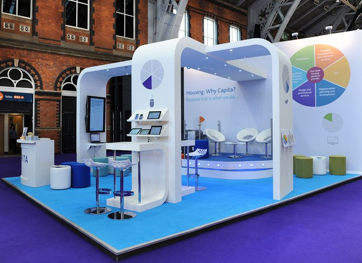 Exhibition Stand Design And Build : Exhibition stand build for capita at cih