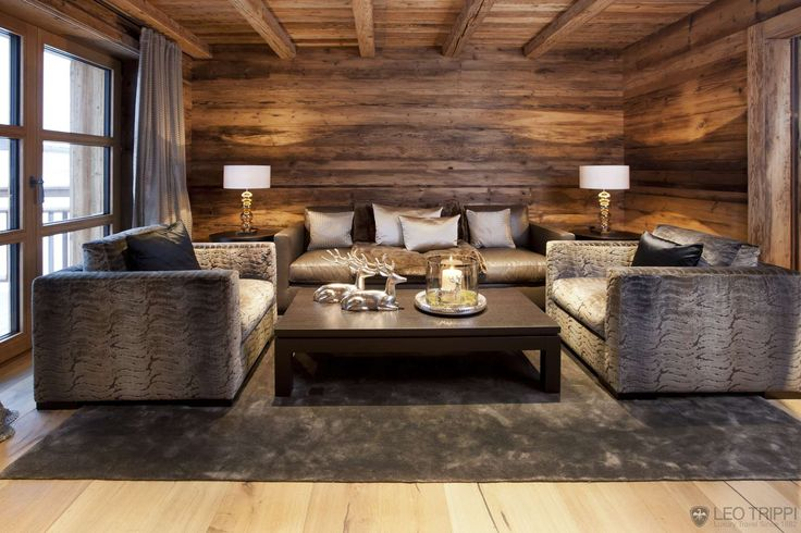 In an ambience without equal - exclusive luxury chalet in the heart of the Alps
