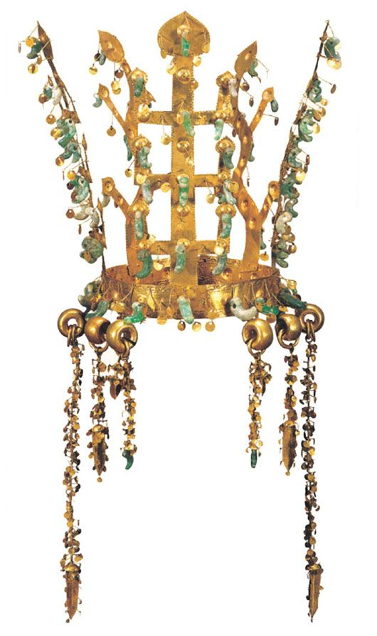 Gold Crown Period/Date: Three Kingdoms Period, Silla, 5th century…