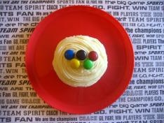 Olympic Cupcakes as part of an entire Olympic unit.  Love this!
