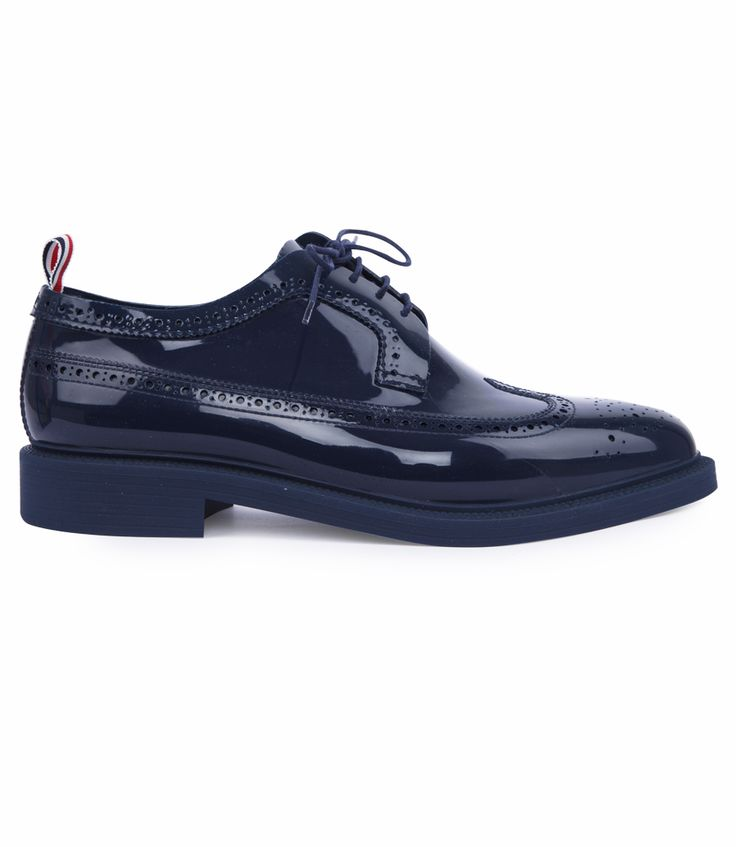THOM BROWNE CLASSIC LONGWING BROGUES FT PERFORATED DETAILING