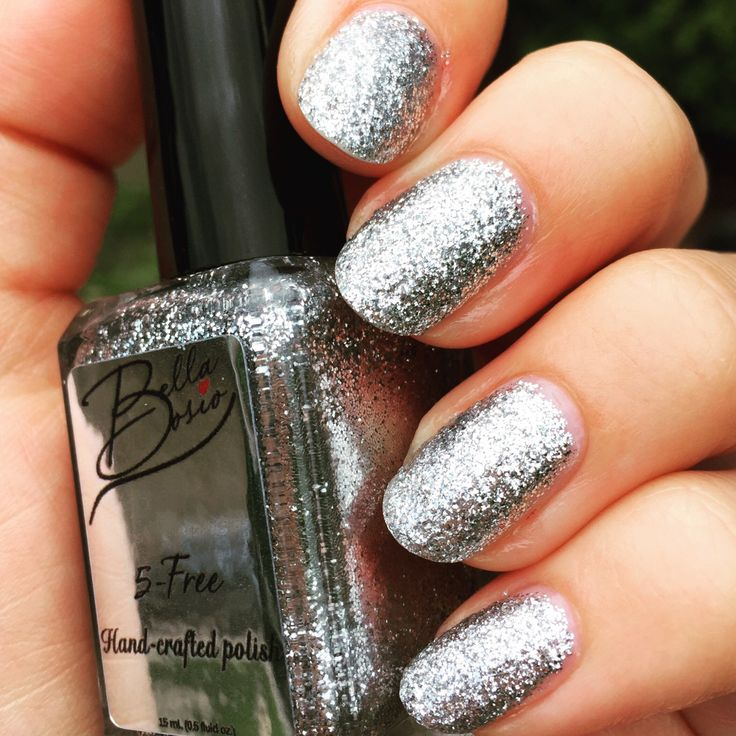 111 best Glitter Nails images on Pinterest | Glitter accent nails ...